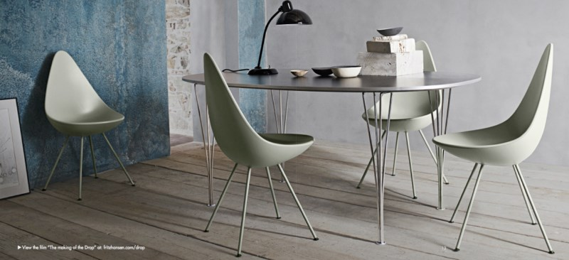chaise DROP de Jacobsen chez Issima Marseille